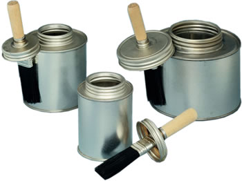 Heavy Duty Brush Cap Cans