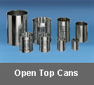 open top cans