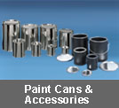 paint cans and accessories