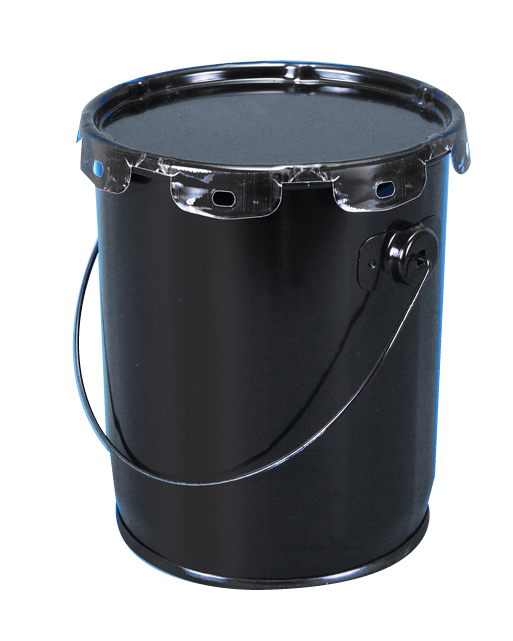 1 - 2 Gallon Steel Pails