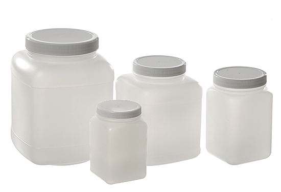 HDPE Square Boy Jars