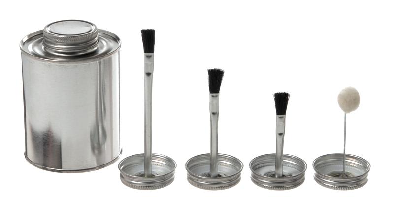 Brush Cap Amp Dauber Cap Cans