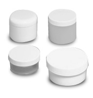 Low Profile Polypropylene & Polystyrene Jars