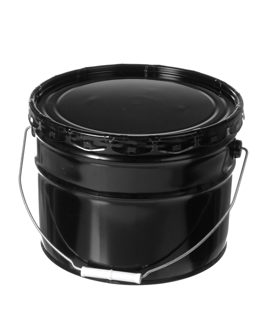 3 - 3 1/2 Gallon Steel Pails