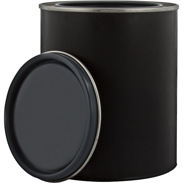 Plastic Pint Paint Can With Lid