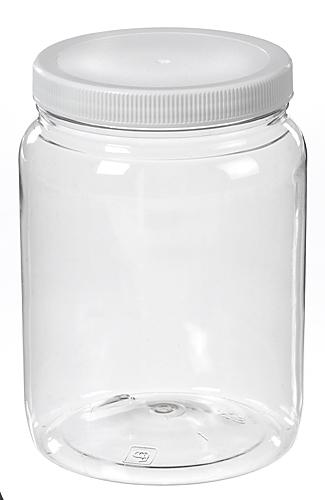 64 oz pet clear wide mouth jars. Black Bedroom Furniture Sets. Home Design Ideas